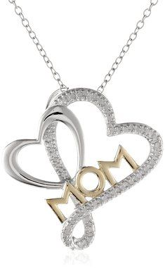 Great Ideas for Mothers Day Gift with tons MOM Love Heart Pendant Necklace also for MOM Birthday 11