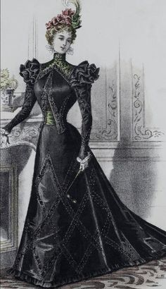 1897 Fashion Plate