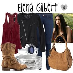 Elena Gilbert -- The Vampire Diaries