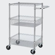 HDX 3-Tier 24 in. x 35 in. x 18 in. Commercial Cart-EH-WSHDI-002 at The Home Depot