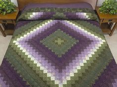 Trip Around the World Quilt -- magnificent well made Amish Quilts from Lancaster (hs6014)