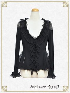 Alice and the Pirates Lace frill cardigan