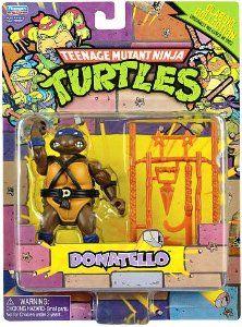 Amazon.com: Teenage Mutant Ninja Turtles Retro Collection 4 Inch Action Figure Donatello: Toys & Games