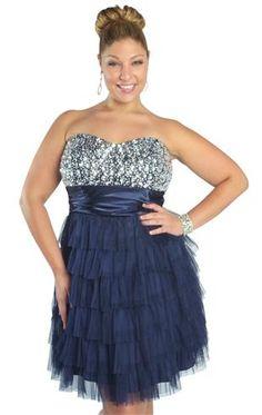 Junior Plus Size Formal Dresses | DebShops.com | dresses ...