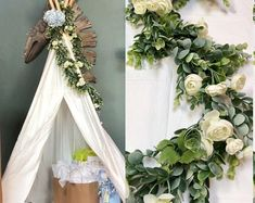 BellasBloomStudio Greenery Centerpiece, Greenery Garland, Leaf Garland, Flower Garlands, Eucalyptus Garland, Eucalyptus Wedding, Cheap Wedding Decorations, Wedding Centerpieces, Wedding Ideas