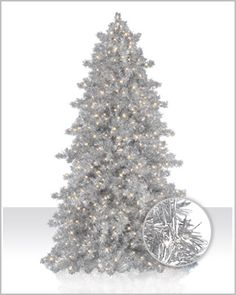 Reminiscent of aluminium silver Christmas trees popular during the 60s, our Narrow Silver Tinsel Tree sparkles and glistens in your home even when unlit.