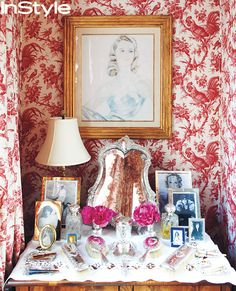 Go Inside Carolina Herrera's Manhattan Town Home - The Bedroom from #InStyle
