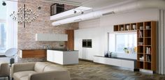 HAKA Küche // 89 Divider, Loft, Bed, Furniture, Home Decor, Made To Measure Furniture, Lofts, Stream Bed, Interior Design