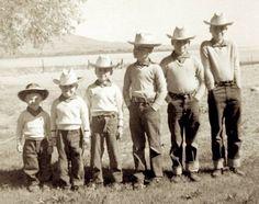 The original Osmond Brothers