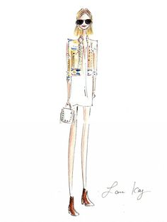 Pin-Worthy: These Coachella Illustrations Are So On-Point via @WhoWhatWear