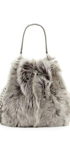 9b23d1affb2 Fifty Shades of Gray   Ralph Lauren Shearling Fur Bucket Bag