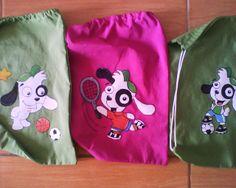 Cotillón de Doki Drawstring Backpack, Laundry, Organization, Backpacks, Bags, 4 Years, Meet, Bangle Bracelets, Manualidades