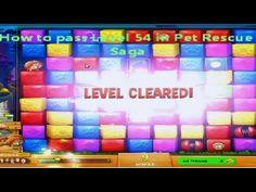 Pet Rescue Saga Level 54 No Booster (+playlist)