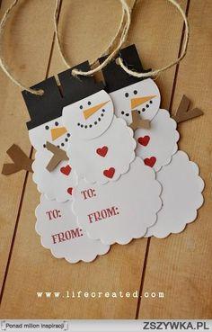 bileciki świąteczne na prezenty - Szukaj w Google