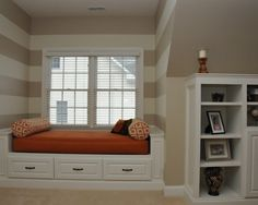 Trundle Bed Design, Pictures, Remodel, Decor and Ideas - page 3 Home Design Decor, Interior Design, Home Decor, Design Ideas, Rooms With Slanted Ceilings, Bonus Room Design, Bunk Beds Built In, Trundle Beds, Daybed Design