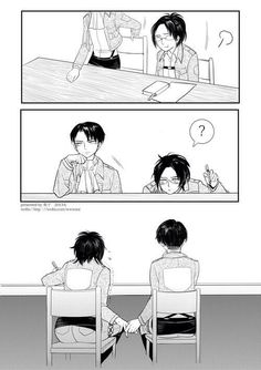 Hanji x Levi Shingeki no Kyjin Attack on Titan