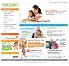 Portal Family SWiSH Templates by Delta