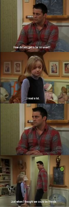Friends guest star: Dakota Fanning