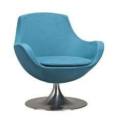 Blauwe werkstoel