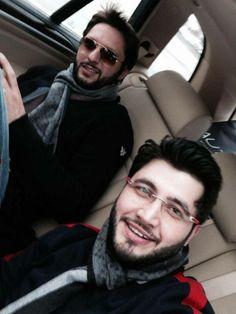 Shahid Afridi & Javed Afridi