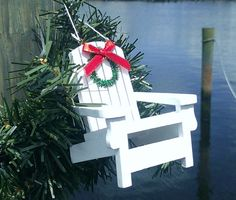 Beach Chair Ornament | OceanStyles.com