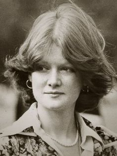 """Lady Sarah Spencer ~ Princess Diana's eldest sister ~ My mama, auntie, & uncle's """"alleged"""" 15th cousin, who looks strikingly like my dear auntie..."""