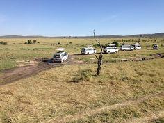 La expedición en Masai Mara