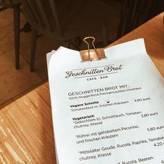 Champagne Brus: ~op jück in Köln~ Geschnitten Brot