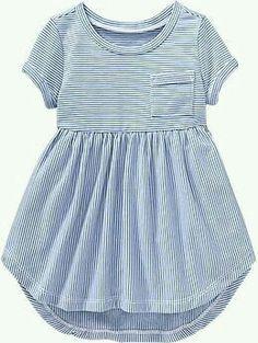 striped pocket dress.