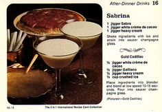 golden cadillac drink
