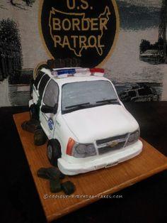 Coolest US Border Patrol Cake... Coolest Birthday Cake Ideas