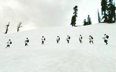 ITBP (Indo-Tibetan Border Police भारत-तिब्बत सीमा पुलिस बल) guarding the Himalayas. Motto: Shaurya – Dridhata – Karm Nishtha. Valour – Steadfastness and Commitment 🇮🇳 . Checkout our youtube channel for some special forces video. Link in the bio.  #itbp #high #himalayas #himalayan #snow #white #ice #survival #adventure #commando #indians #india #army #like4like #instamood #indianarmy #follow4follow #like #follow #warrior #special #weapon #training #followme