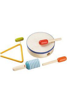 HABA - Erfinder für Kinder - Percussion Set - Musical toys - Wooden toys - Toys & Furniture