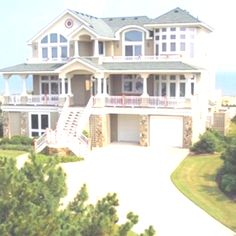 The summer home. tons of houses like this for renting in North Carolina, someday....