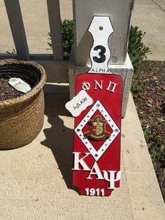 """Kake's Creations"" Kappa Alpha Psi paddle I made for my cousin Kappa Alpha Psi Fraternity, Delta Sigma Theta, Greek Paddles, Sorority Crafts, Aka Sorority, Grad Gifts, Greek Crafts, Higher Education, College Life"