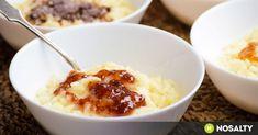 Tejberizs négy ízben recept képpel. Hozzávalók és az elkészítés részletes leírása. A tejberizs négy ízben elkészítési ideje: 55 perc Creme Brulee, Mousse, Natural Remedies, Mashed Potatoes, Panna Cotta, Oatmeal, Healthy Living, Pudding, Breakfast