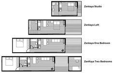 Zenkaya Prefabricated House by Eric Bigot.