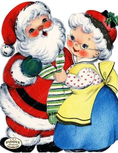 PDXC20524a -- Christmas Images - piddix Vintage Christmas Images, Retro Christmas, Vintage Holiday, Christmas Pictures, Christmas Art, Christmas Graphics, Christmas Clipart, Christmas Greeting Cards, Christmas Greetings