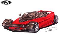 Ford Indigo Supercar Concept by toyonda on DeviantArt