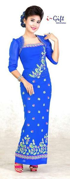 myanmar traditional fashion