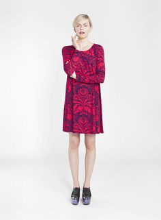 KEINUVA dress & RISTAI tunic - Marimekko clothes, Winter 2014