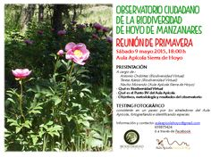 Reunión de primavera del Observatorio de la Biodiversidad de Hoyo