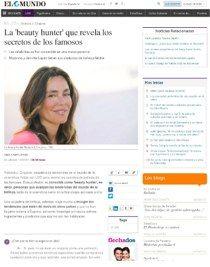Ikonsgallery.com: La beauty hunter que revela los secretos de los famosos.