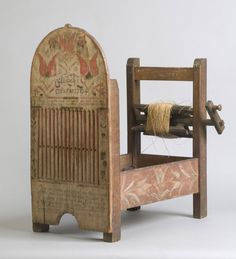 Philadelphia Museum of Art - Collections Object : Tape Loom with Spools