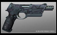 Model S82 Seung Gun by BlackDonner on deviantART
