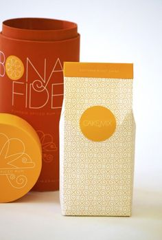 Bona Fide baked goods packaging design concept by Amy Nortman