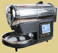 """The Hot-Top Roaster: This is the little guy that helps me create """"coffee magic""""."""