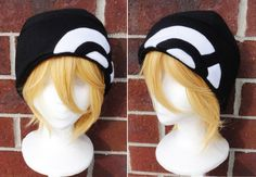 Black and White Dawn Hat by Akiseo on On Etsy (https://www.etsy.com/listing/70772430/dawn-pokemon-hat-a-winter-nerdy-geekery?ref=shop_home_active) and @deviantART