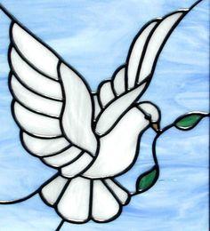 glass dove pattern - Google Search                                                                                                                                                                                 More