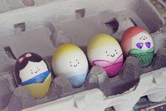 The cutest Disney Princess Easter eggs we've seen. Via Kaylee Huffman